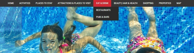 Drop Down menus Advertise with us What's on in Ilfracombe
